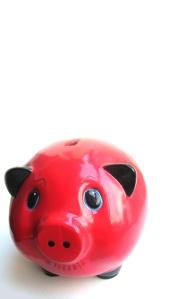 piggy bank - bright