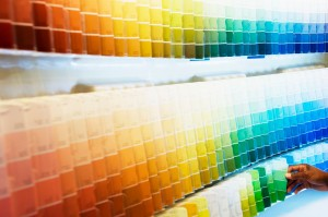 Selecting Paint Chips