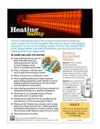 Clicke to view fact sheet on heating safety.