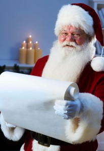 Budgeting and planning are the best ways to stay on track during the holidays. Even Santa makes a list and checks it twice!