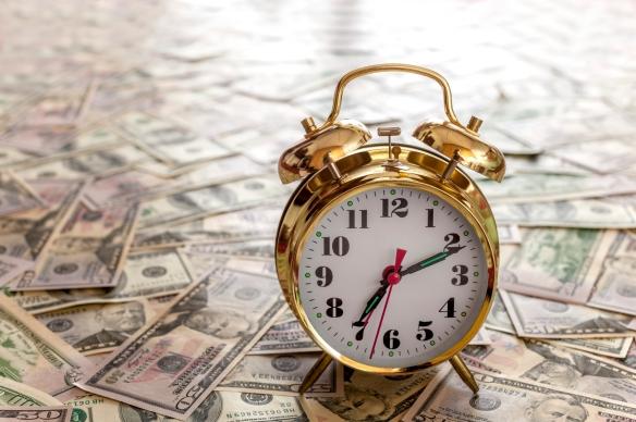 Money with Clock