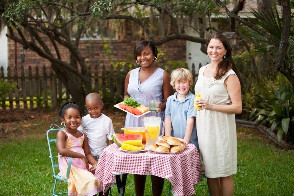 Get to know your neighbors! Host a block party, a backyard cookout or just a playdate for the kids next door.