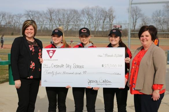Circleville Schools Donation (PCBC) 3-18