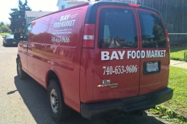 Bay Food Market Van