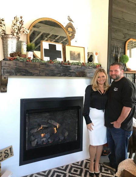 Broadway Fireplace and Decor Owners, Jeremy and Danielle Johnson