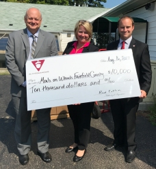 Meals on Wheels 2017 Donation cropped