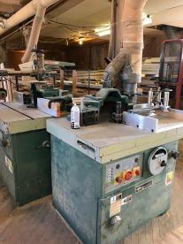 Wood shop machinery