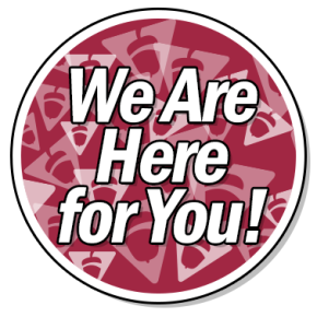 Here for You Badge